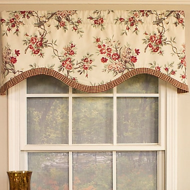 RLF Home Branching Out Cornice 50'' Curtain Valance