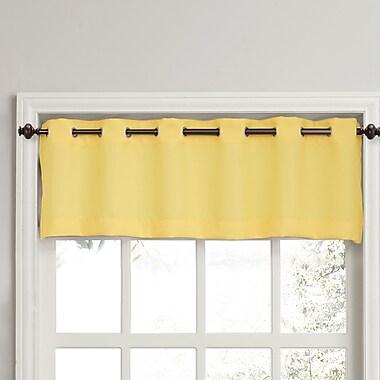 No. 918 Montego 56'' Window Valance; Yellow