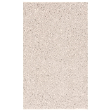 Nance Industries Room Accent Ivory Tusk Area Rug; 4' x 6'