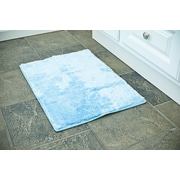 Persian-rugs 3 Piece Bath Rug Set; Blue