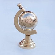 Handcrafted Nautical Decor Globe Paperweight