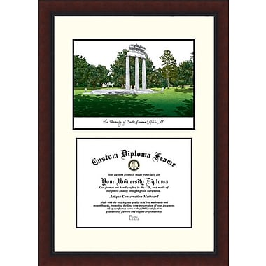Campus Images NCAA University of South Alabama Legacy Scholar Diploma Picture Frame