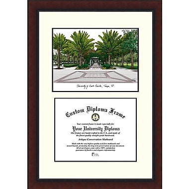 Campus Images NCAA University of South Florida Legacy Scholar Diploma Picture Frame