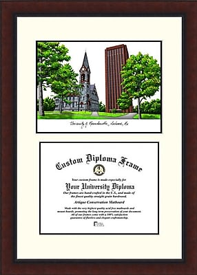 Campus Images NCAA Massachusetts University Legacy Scholar Diploma Picture Frame