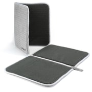 Prepara Silva Dry Dock Dish Mat (Set of 2); Gray