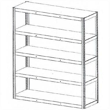 Tennsco Die Rack Shelving Units; 48'' x 18'' x 72''