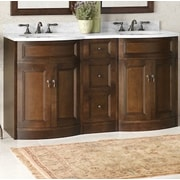 Ronbow Marcello 24'' Bathroom Vanity Cabinet Base in Caf  Walnut