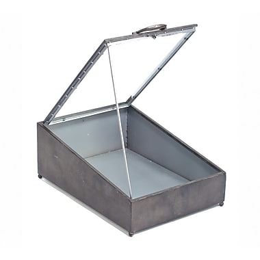 Tripar Tin Display Case w/ Glass Lid