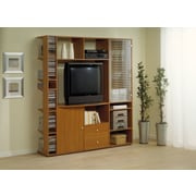 Hokku Designs Entertainment Center; Light Cherry