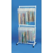 Classroom Innovations LLC Double Sided Teaching Cart w/ Casters