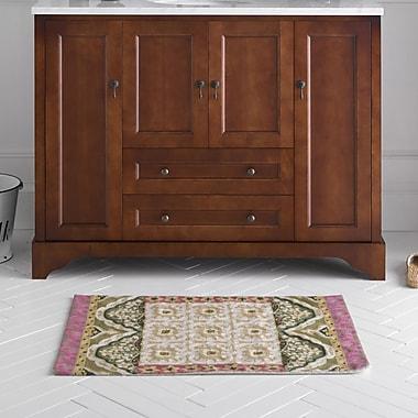Ronbow Milano 48'' Bathroom Vanity Cabinet Base in Colonial Cherry