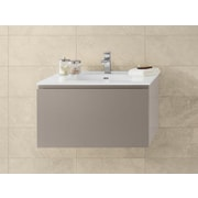 Ronbow Ariella 31'' Wall Mount Bathroom Vanity Base Cabinet in Blush Taupe