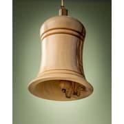 EarthwoodLLC Olive Wood 3D Bell Ornament