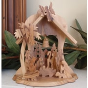 EarthwoodLLC Olive Wood Bell Shaped Grotto