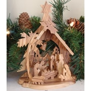 EarthwoodLLC Olive Wood Large Tree Shaped Grotto