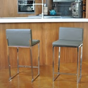Sofas to Go Reda 24'' Bar Stool (Set of 2)