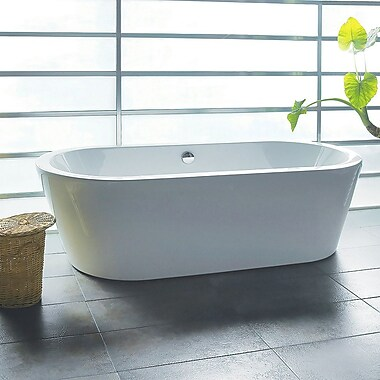 AKDY 70.87'' x 31.5'' Soaking Bathtub