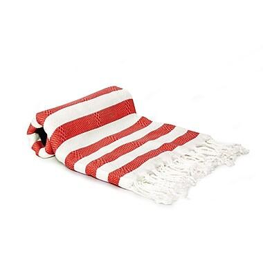 Buldano Agatha Beach/Bath Towel; Red