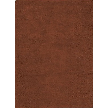 Wildon Home Henley Hand-Tufted Rust Area Rug; 5' x 8'