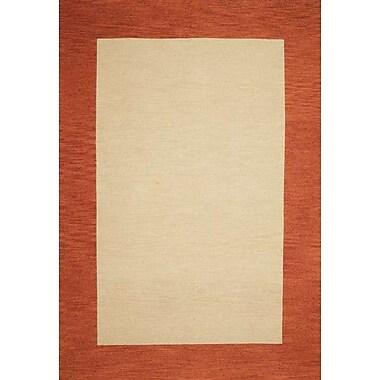 Wildon Home Henley Hand-Tufted Cardinal Terra Cotta Area Rug; 5' x 8'