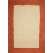 Wildon Home Henley Hand Tufted Cardinal Terra Cotta Area Rug 8 X 10