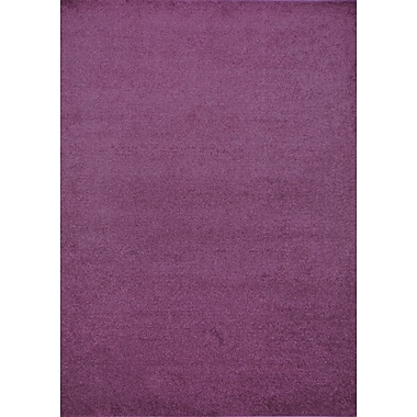 Wildon Home Henley Hand-Tufted Purple Area Rug; 9' x 12'