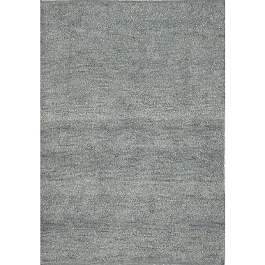 Wildon Home Henley Hand-Tufted Porcelain Blue Area Rug; 5' x 8'