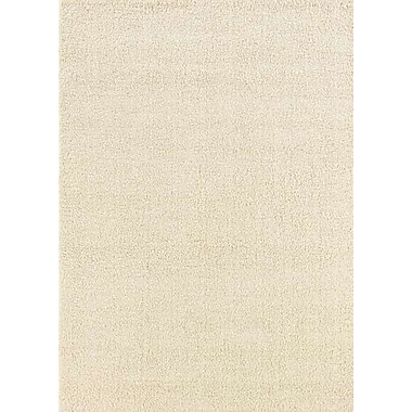 Wildon Home Henley Hand-Tufted Beige Area Rug; 8' x 10'