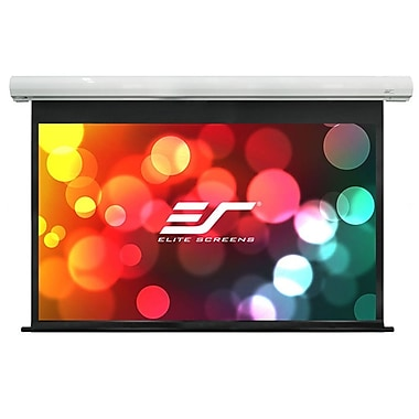 Elite Screens Saker Series White Electric 100