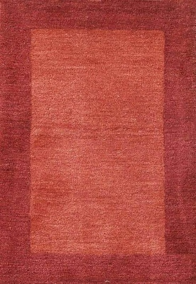 Wildon Home Henley Hand-Tufted Cranberry Area Rug; 5' x 8'