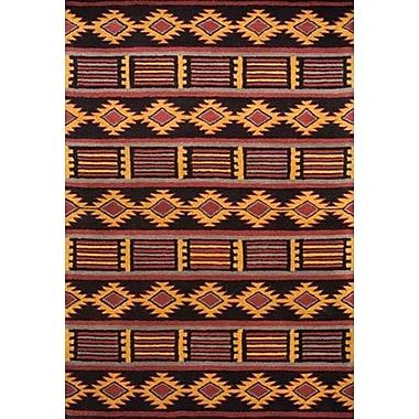 Wildon Home Southwest Hand-Tufted Area Rug; 9' x 12'