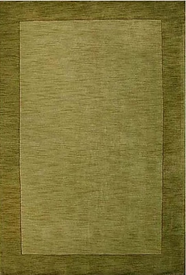 Wildon Home Henley Hand-Tufted Green Dark Area Rug; 8' x 10'
