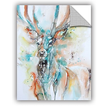 ArtWall Stag 7 Wall Mural; 48'' H x 36'' W x 0.1'' D