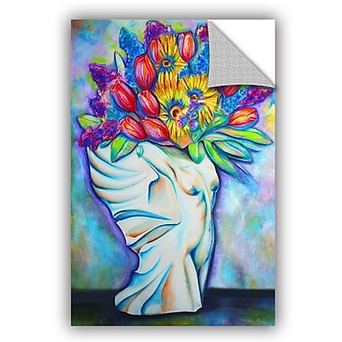 ArtWall Angel Vase In Bloom Wall Mural; 36'' H x 24'' W x 0.1'' D