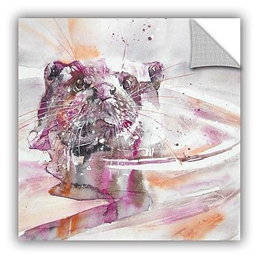 ArtWall Otter 7 Wall Mural; 36'' H x 36'' W x 0.1'' D