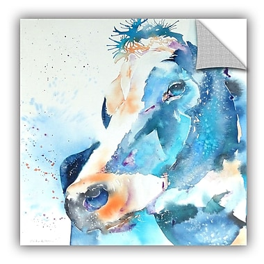 ArtWall Cow My Oh My Wall Mural; 36'' H x 36'' W x 0.1'' D