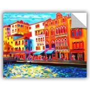 ArtWall Venice Grand Canal Wall Mural; 14'' H x 18'' W x 0.1'' D