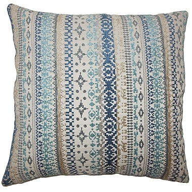 The Pillow Collection Valko Ikat Bedding Sham; Queen