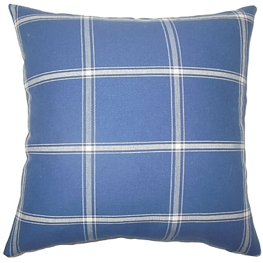 The Pillow Collection Vander Plaid Bedding Sham; King