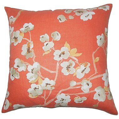 The Pillow Collection Taiki Floral Bedding Sham; Euro