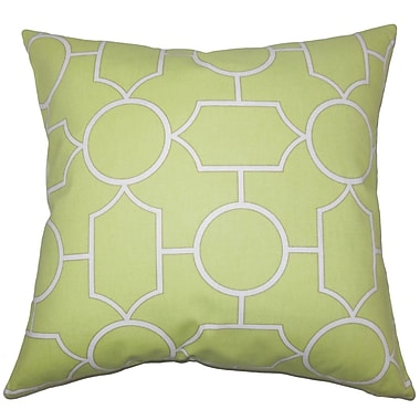 The Pillow Collection Umed Geometric Bedding Sham; Euro