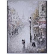Hobbitholeco. ''Paris Lovers'' by Peter Kiyanitsa Painting Print on Canvas