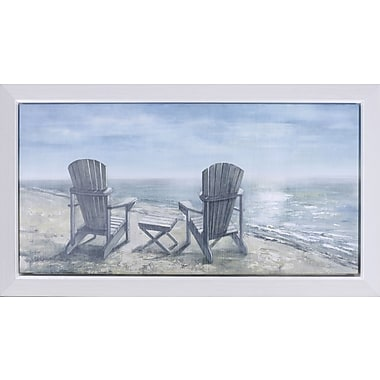 Hobbitholeco. ''Sea Side Rest'' by Anastasia C Painting Print on Canvas