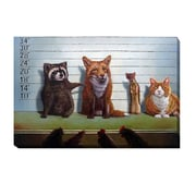 Artistic Home Gallery 'Usual Suspects' by Lucia Heffernan Graphic Art on Wrapped Canvas