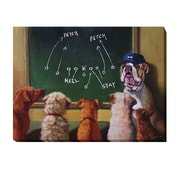 Artistic Home Gallery 'Game Plan' by Lucia Heffernan Graphic Art on Wrapped Canvas