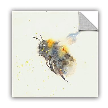 ArtWall Bee Wall Mural; 24'' H x 24'' W x 0.1'' D