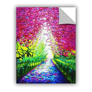 ArtWall Central Park In Spring Wall Mural; 24'' H x 18'' W x 0.1'' D