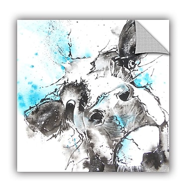 ArtWall Cow 47 Wall Mural; 18'' H x 18'' W x 0.1'' D