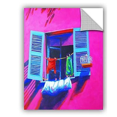 ArtWall Murano Laundry Wall Mural; 18'' H x 14'' W x 0.1'' D