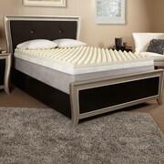 Luxury Solutions 3'' Memory Foam Mattress Topper; Full
